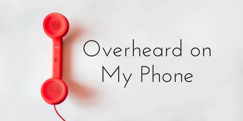 Overheard on My Phone - Sister Triangle Article